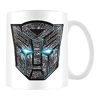 金字塔国际 TRANSFORMERS THE last KNIGHT ( Autobot LOGO ) 官方盒装陶瓷咖啡 / 茶杯马克杯纸张 multi-colour 11x 11x 1.3cm