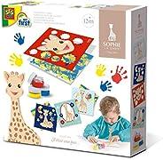 SES Creative 14493 Sophie la Girafe - 手指彩色卡
