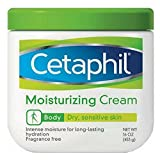 Cetaphil Moisturizing Cream Fragrance Free 16 Ounce (Pack of 2)
