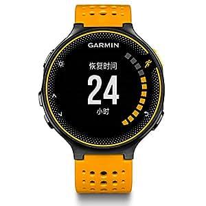 GARMIN 佳明 Forerunner235 橙黑色 中性 光电心率GPS运动跑步腕表 户外智能骑行手表(双星系统 跑步骑行运动模式 7X24H心率记录 心率区间/警示 高分辨率大屏 智能通知 日常活动监测 语音提示)