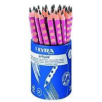 LYRA Groove 儿童抓握铅笔, 3 Jahre to 99 Jahre 36 rosa