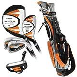 Intech Lancer Junior 高尔夫套装(适合 8-12 岁儿童,橙色)