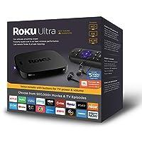 Roku 4661RW Ultra Streaming Player,2018,JBL 耳机