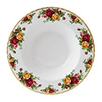 Royal Albert Red 'Old Country Rose' Soup Bowl