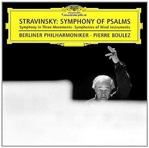 进口CD:斯特拉文斯基:诗篇交响曲(CD)(4576162C)
