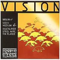 Thomastik-Infeld VI01.12 Vision Violin String, Single E String, Tin Plated Carbon Steel, 1/2 Size