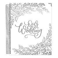 bloom 日常计划员无日期婚礼计划员 Silver Floral