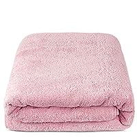 Turkuoise 优质浴巾,超大号,* 土耳其棉 玫瑰红 40x80 Inches
