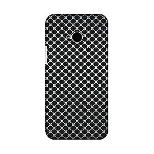 AMZER 修身款手工设计师印花硬壳手机壳后盖适用于 HTC One M7AMZ601040205178 Vintage Dot Pop 3