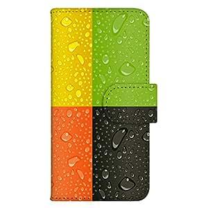 智能手机壳 手册式 对应全部机型 印刷手册 wn-316top 套 手册 多彩图案 UV印刷 壳WN-PR061406-MX AQUOS Xx2 502SH B款