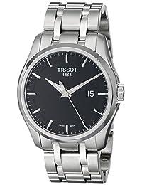 TISSOT 天梭 瑞士品牌 T-TREND 时尚系列石英手表 男士碗表  T035.410.11.051.00