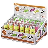 Hama FL-40 手电筒头带手电筒,LED,AAA,绿色,粉色,白色,黄色,铝)