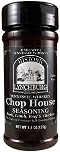 RetailSource Lynchburg Tennessee Chop House Seasoning,5.5 盎司,6 支装