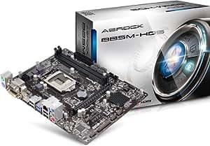 ASROCK 华擎 INTEL B85 LGA 1150 B85M-HDS主板