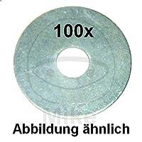 Dresselhaus Mudguard 垫圈,厚度 1.25 mm 电镀 5.3 x 30 包 100 个