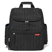 SKIP HOP Forma双肩妈咪包,内带一隔离袋 黑色 16英寸(约40.6厘米)
