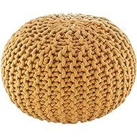 Artistic Weavers Culver 小袋,20 x 20 x 14 英寸(约 50.8 x 50.8 x 35.6 厘米),棕色