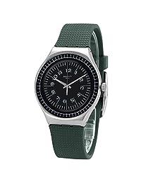 Swatch 斯沃琪 瑞士品牌 正装系列 石英男士手表 卡其努马 YGS133