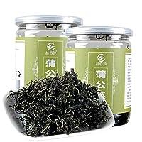 蒲公英茶 60克*1罐 蒲公英叶茶 婆婆丁茶 自然原叶茶 代用花草茶