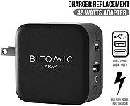 Bitomic 替换 GaN Tech USB-C 手机充电器 适用于三星 Galaxy S10 S10e S8 S9 | 兼容三星 S8 Plus S9 Plus S10 Plus Note 8 9 快速充电器 | 4