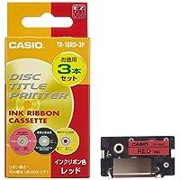 卡西欧 磁盘主题打印机 墨水 丝带 红色
