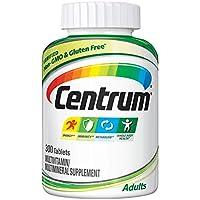 Centrum 善存 完整多種維生素和礦物質片,維生素D3,B族維生素,鐵,300片