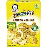 Gerber嘉宝Graduates香蕉饼干  5 盎司(141.75克) (12 包)