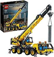 LEGO 42108 Technic 移动起重机卡车玩具,工程车辆积木套装