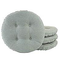Klear Vu Omega Gripper 防滑管状桶坐垫,Spa 4 件装