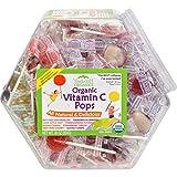 Yummy Earth 0337162 Organic Vitamin C Pops Counter Bin - 150 Pops