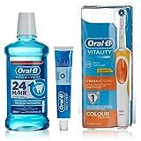 Oral-B 电动牙刷 + 牙膏 Pro Expert Vitality Cross Action - 1 包