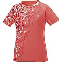 [高森] 女士 网球 游戏衬衫 珊瑚红 T1717 84 コーラルレッド(84) Small
