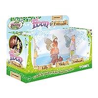 My Fairy Garden Tomy Feen & 朋友擴展套裝 – 三個仙女和您的動物伴侶作為奇妙的游戲玩家補充 – 1 個游戲人物套裝 4 歲以上