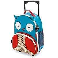 美国Skip Hop可爱动物园小孩专用行李箱书包-猫头鹰SH212304