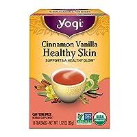 Yogi Tea (瑜伽茶) - 健康皮肤有机茶桂香香草 - 16茶叶袋