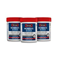 Swisse Women's Ultivite Tablets, Women's Daily Multivitamin, Three Pack (120 Tablets/Bottle), Premium Formula of Vitamins, Minerals, Antioxidants and Herbs for Women's Health, for Women 18 and Older*