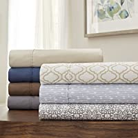 Serta® Perfect Sleeper 优质超细纤维床单套装 灰褐色 全部 1629621
