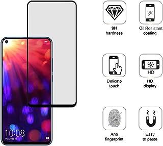 TELLUR 钢化玻璃 2.5D 全胶水适用于荣耀视角 20,黑色