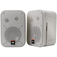 JBL Control 1 Pro 高性能 150 瓦微型工作室监听扬声器C1PRO-WH