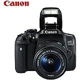 Canon 佳能 EOS 750D数码单反相机套机 (含18-55 IS STM镜头)