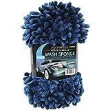 Viking Car Care 528201 Navy 2-in-1 Pearl Chenille Wash Sponge