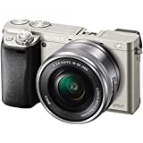 Sony 索尼 ILCE-6000L/S 微单™ 数码相机 单镜套装(E PZ 16-50mm F3.5-5.6 OSS) (银色)