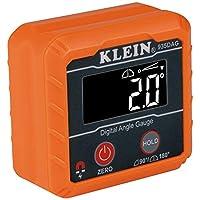 Klein Tools 935DAG 数字电子水平和角度测量,测量范围为 0-90 度和 0-180 度,测量和设置角度