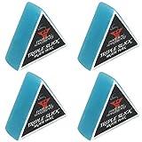 Dime Bag Hardware Triple Slick Skateboard Curb 蜡,蓝莓色(4 件装)