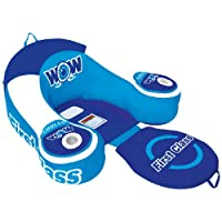 WoW World of Watersports, 11-2030 First Class Lounge, Inflatable, 1 Person, Cooler and Cup Holders
