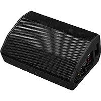 IMG STAGELINE FLAT-M200 主动 PA 舞台显示器盒,紧凑扁平全范围系统,包括D级放大器系统,300瓦,黑色