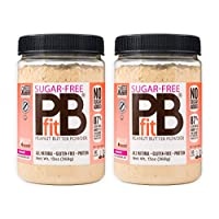 PBfit Sugar-Free Peanut Butter Powder, 2 Count