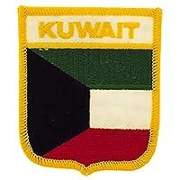 EagleEmblems PM6264 Patch-Kuwait (盾)(6.35 x 7.62 cm)