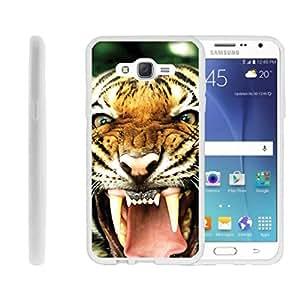 三星 Galaxy J7 手机壳,TPU 纤薄贴合减震灯罩带手机套狩猎|Miniturtle 出品 - Tiger Growling