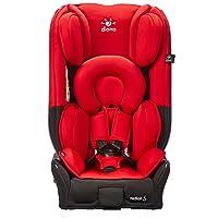 diono谛欧诺 旅行侠(radian V All-In-One Convertible Car Seat)汽车儿童安全座椅 朝阳红(适合刚出生-36kg、刚出生-12岁、升级更深侧翼、支持正反向安装、大梁钢骨架、两侧翼多档调节、全球专利Superlatch接口、带美标latch三点式接口、可折叠放平)